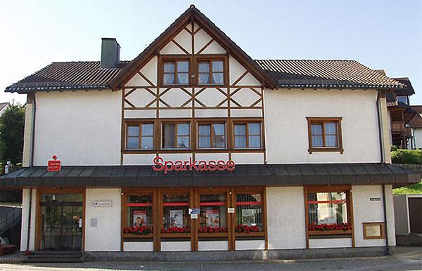 Fassade vor der Sanierung